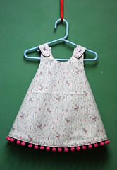 Isabel's Pinafore (Mle BB) Tags: house girl kid clothing child dress blossoms peeps pinafore lizzy 1001 bloomers blossomsandbloomers
