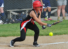Claudia Lopez (superninja12r) Tags: sports catch softball throw bunt hitting sportsphotography in actionphotography girlssoftball brownsburg highschoolsports claudialopez nikond700 ladypatriots mikemoncriefphotography nikkorafs70200mmf28vriied bethesdapatriots bethesdahighschool