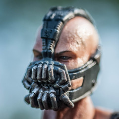Bane Head (misterperturbed) Tags: dccomics squareenix bane darkknight playartskai darkknightrises