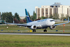 Westjet   Boeing 737-8CT   C-FRWA (Patrick Lundgren) Tags: travel blue canada green vancouver digital canon airplane photography fly flying photo airport all teal aviation air tail wheels transport flight wing jet picture engine sigma gear columbia os richmond landing international transportation vehicle british passenger 28 boeing yvr westjet 800 runway pilot spotting types airliner airliners rudder 737 winglets threshold 737800 jetline cyvr 120300 60d 7378ct