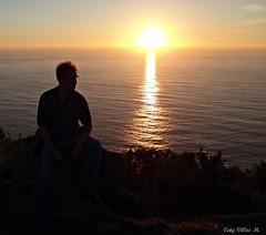 Cabo de Home. Galicia, Espaa. (Caty V. mazarias antoranz) Tags: espaa spain galicia cielos atardeceres pontevedra evenings anocheceres islasces porlanoche porlatarde ofacho