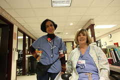 IMG_0641 (UI Health Marketing) Tags: white female labor delivery africanamerican nurse stethoscope scrubs