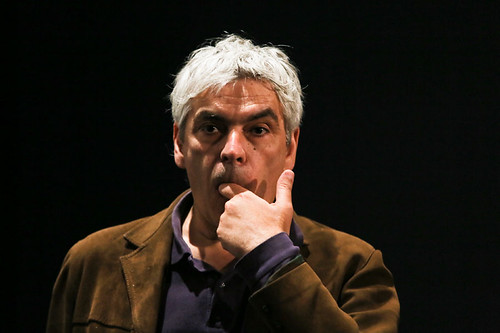 Pedro Costa, one of the director of Historic Centre after the screening of his film at the Filmhouse