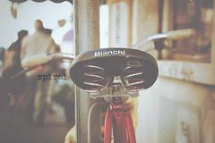 spiral (TIBBA69) Tags: street old bicycle canon vintage spiral strada colours bokeh seat scratches retro dust colori bicicletta polvere graffi sfuocato sellino andreatiberini 100bicyclesgroup