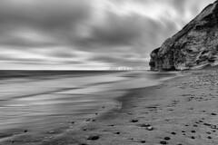 Bulbjerg (Bo47) Tags: blackandwhite beach water clouds denmark europe done geotag 2012 jutland nordjylland bulbjerg bo47 frøstrup nikkor2470mmf28 nikond800 bonielsen wwwjustwalkedbycom