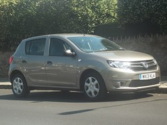 Dacia Sandero (occama) Tags: new uk car cornwall reg registration cornish dacia 2013 sandero wk13kla