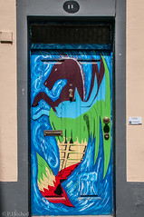"""doors of Funchal • <a style=""""font-size:0.8em;"""" href=""""http://www.flickr.com/photos/58574596@N06/9407016189/"""" target=""""_blank"""">View on Flickr</a>"""