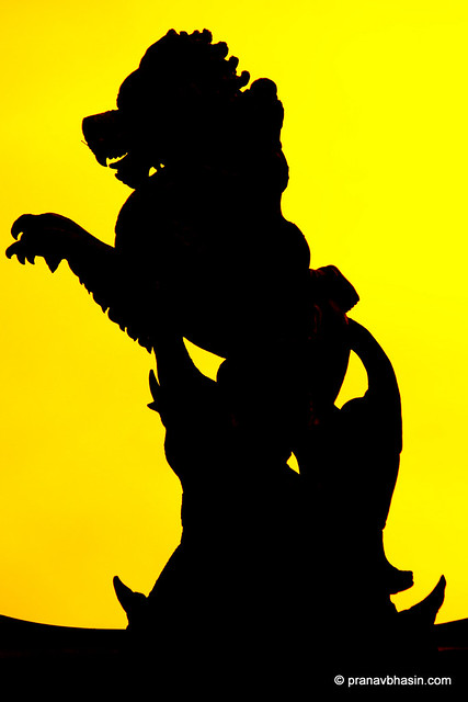 Behold The King Silhouette, At The Sanctuary Of Truth, Pattaya
