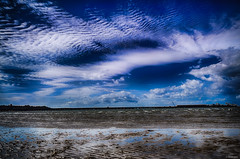 Sky is the way! (_Amritash_) Tags: travel blue sky seascape beach reflections skys