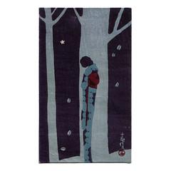 Takahashi Haruka woodblock print (Wooden donkey) Tags: 1920s art japan print japanese 1930s geisha deco japon woodblock takahashiharuka