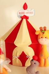 Circo (| Boutique do Feltro |) Tags: circo infantil feltro em festa aniversrio decorao leo girafa palhao foca elefante tema lembrancinhas