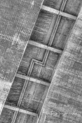 Detail in the base (photoacumen) Tags: bw bridges pasadena sculptural hdr