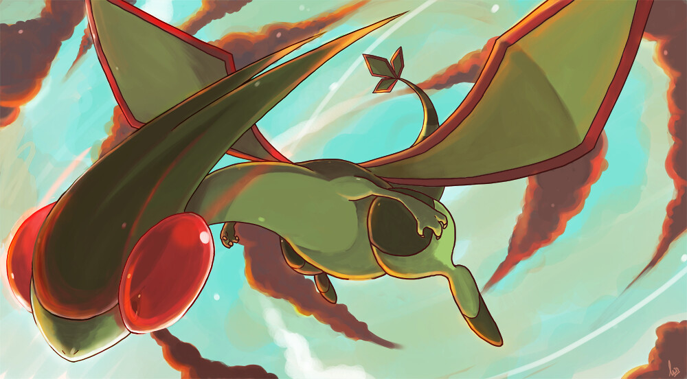 Flygon_by_seiryuuden