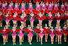 Pink and red (Lil [Kristen Elsby]) Tags: travel pink red topf25 topv2222 asia dancers performance dancer korea multiples editorial performers northkorea pyongyang eastasia dprk travelphotography arirang democraticpeoplesrepublicofkorea massgames chosŏnminjujuŭiinminkonghwaguk dprofkorea canon5dmarkii arirangmassgames