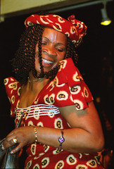 Gifty NaaDK from Ghana Etome Vocalist at the Africa Centre London March 2001 051 (photographer695) Tags: gifty from ghana africa centre mar 2001 sophie dancing naadk etome vocalist london march
