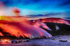 Fimmvörðuáls - Revisited (Kristinn R.) Tags: sky snow mountains clouds iceland nikon glacier mýrdalsjökull fimmvörðuháls eyjafjallajökull volcaniceruption nikonphotography nikond700 superjeeps kristinnr