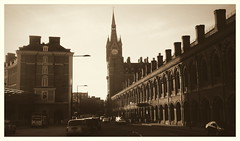 Pancras Morning (dhcomet) Tags: london station train transport stpancras greatnorthernhotel