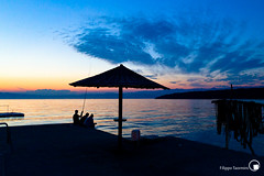 pesca al tramonto KRK_Croazia (I Leic_a) Tags: sea sun canon tramonto mare blu 7d pesca croazia vacanza 1022 krk