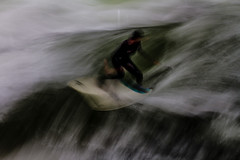 Surfing Hydra (Traveller_40) Tags: eisbach englischergarten exposure hydra munic münchen scottkelby scottkelbywalk surf surfboard wasser longexposure water landscape wwpw mediaone worldwidephotowalk worldwide photowalk