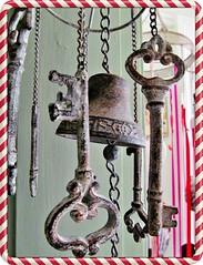 Ringing in Changes (Cathlon) Tags: mobile keys bell windchimes challenge scavenger ansh49