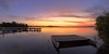 Going Nowhere (Torkn2U) Tags: sunset panorama belmont pano hdr lakemacquarie squidsink