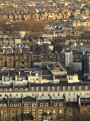 West End, Londres - London (blafond) Tags: houses london rooftops maisons londres metropolis kensington sprawl urbanism metropole urbanisme toits techos toitures