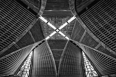 Yodobashi Church (Tokyo) (I) (manuela.martin) Tags: blackandwhite bw japan architecture tokyo shinjuku architektur tokio contemporaryarchitecture modernearchitektur shinjukuku schwarzundweis yodobashichurch inadomiarchitectassociates