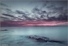 29122013-Mafrmcfa-08579.jpg (Mafr-Mcfa) Tags: mar spain agua mediterraneo playa catalonia arena amanecer cielo nube roca gerona sagaro