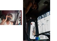 India Trucker_NH8 Road Kings-15 (Espa Da) Tags: portrait india truck portraits trucker delhi lorry gurgaon indien jaipur newdelhi lorries nh8 nationalhighway bookpages indiantrucks indianlorries indiancargo