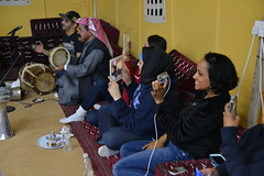 Diwaniyah breathes life to the desert (143d Sustainment Command (Expeditionary)) Tags: music food dinner army engagement dancing tea culture social tent arabic east cesar soldiers kuwait middle khaima lute civilaffairs rivera islamic kuwaitis g9 publicaffairs diwaniyah mukhayyam 143desc sustainmentcommandexpeditionary johncarkeet aljashua