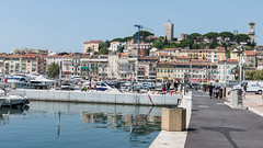 A View from the Old Port at Cannes (Steve Barowik) Tags: holiday france beach port vacances mediterranean cotedazur harbour yacht cannes vin provence fullframe fx plage frenchriviera d600 superyacht 2470mmf28 provencale superrich nikond600 lovelycity stevebarowik sbofls26 vision:text=0613 vision:outdoor=099 vision:sky=0569