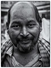 Kolkata 2014 (1 van 1)-28 (RieksKamphuis) Tags: travel people india white black monochrome festival prime social olympus holy olympuspen kolkata calcutta lightroom sadu olympuspenep3 olympusomd olympusomdem5