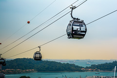 Mt. Fabre Cable Cars (rumblytummy27) Tags: cars dusk cable before d5200