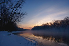 Happy Valentine's Day (rkramer62) Tags: mist sunrise frost michigan grandriver rkramer62 grandvillewalker february122014 {vision}:{outdoor}=099 {vision}:{sky}=099 {vision}:{clouds}=099 {vision}:{mountain}=0707 {vision}:{sunset}=0861 {vision}:{ocean}=0721 7degreemorning