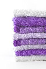 IMG_7672-2 (henning.wenk) Tags: macro vertical soft purple background stock towel fresh clean laundry towels presentation comfort hdd onwhite downy spa washing hygiene handtcher cosy sauna detergent softener conditioner deeppurple 2014 hdl vernel evonik