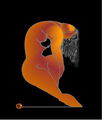 Modigliani à l'égyptienne