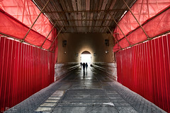 Red Entry (Bill Thoo) Tags: beijing china palacemuseum forbiddencity red colour entrance tunnel silhouette travel architecture building museum sightseeing sony a7rii samyang 14mm ngc