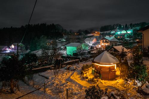 A winter night in Radizel