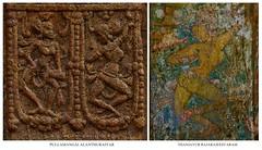 "Unfrequented Choreography @ Pullamangai Alanthuraiyar and Thanjavur Rajarajeesvaram-Tamilnadu. (Kalai ""N"" Koyil) Tags: nikon d 5200 35mm tokina 1116mm 2015 2016 tirupullamangai alanthuraiyar brahmapureeswarar thanjavur rajarajeesvaram tamilnadu southindiantemple architecture ekantha adal unfrequented choreograph 9th 10th ad chola painting murals"