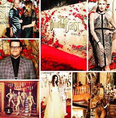 Beauty and The Beast Movie Premiere, State Theatre bodypainting candelabras human statue bodyart (Eva Rinaldi Celebrity and Live Music Photographer) Tags: beauty the beast movie state theatre bodypainting candelabras human statue bodyart