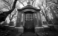 A rainy day walk in Greenwood Cemetery (dansshots) Tags: greenwood greenwoodcemetery brooklyn brooklynny bnw blackandwhite blackandwhitephotography blackandwhitephoto dansshots nikon nikond750 rokinon rokinon14mm rainyday