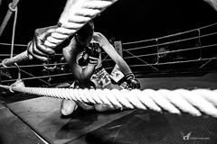 StarLeague. (GMphotographie) Tags: boxer boxeur blackandwhite blancetnoir nikonfr nikon photohrapher photographe ring starleague mma fight winner france sport victoire young frenchboy muscular reportage reporter gmphotographer thepunisher dark combat