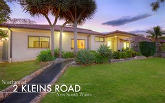 2 Kleins Road, Northmead NSW
