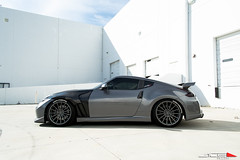 "ACE 20"" Devotion D718 Titanium Nissan 370z Aftermarket Wheels (ACEALLOYWHEEL/AMF FORGED) Tags: ace acealloywheel acealloy nissan nissanz nissan370z nissiniti aftermarket wheels acewheels customwheels titanium vehicles cars car import japanese nismo carbon fiber vent wing hood"