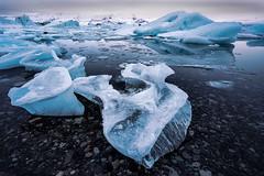 Icebergs in Jökulsárlón glacier lagoon. Iceland. (Orion Azul) Tags: snow water ice hielo lagoon laguna lago glacier glaciar iceland islandia paisaje landscape sony haida
