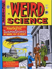 "Front cover of Volume 1. ""The Complete Weird Science"" published by Russ Cochran, (1978). Four hardcover volumes.  1st ed. (lhboudreau) Tags: comiccover comicbookcover comicart coverart russcochran hardcover hardcovers bookcover bookcovers bookart 1978 completeweirdscience thecompleteweirdscience comicbook comicbooks comic comics colorcomics vintagecomic vintagecomics vintagecomicbook vintagecomicbooks colorcomic weirdscience no13 weirdsciencenumber13 weirdscience13 eccomics 1950 julyaugust1950 feldstein alfeldstein flyingsaucer flyingsaucers ufo ufos sciencefiction fantasticsuspensestories weirdscienceno13 volume1 entertainingcomics ec comicbookmagazine sciencefictionstories frontcover"