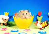 Muppet in Egg ~ Gucio (pyza*) Tags: gucio bubu hamster hammie syrian syrianhamster animal pet rodent critter furry fluffy easter egg holidays spring pyza