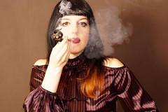 (Sean Anderson Classic Photography) Tags: sonya6000 carlzeissplanar 50mmf17 cymount portrait woman pipe smoking a6000 planar50mmf17