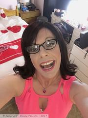 April 2017 (Girly Emily) Tags: crossdresser cd tv tvchix boytogirl mtf maletofemale tranny trans transvestite transsexual tgirl tgirls convincing dress feminine girly cute pretty sexy transgender xdresser gurl glasses indoor minidress