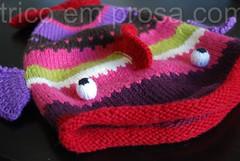 Gorro Peixe [Morto ou Vivo?] (tricô em prosa) Tags: gorro circular jacquard semcostura knitty hat tricô knitting seamless stranded fairisle grátis free